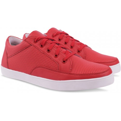 Butchi Red Casuals For Men