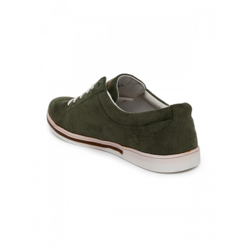 Costituire di base importante  Buy U.S. Polo Assn. Men Olive Green Marsh Sneakers online | Looksgud.in