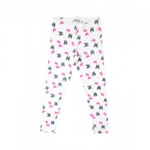 Allen Solly Junior Girls White Printed Leggings