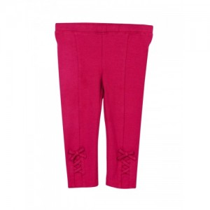 Beebay Girls Pink Solid Leggings