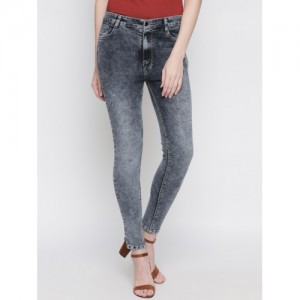 86e5a8c0fff Buy AMERICAN EAGLE OUTFITTERS Women Black Regular Low-Rise Mildly ...