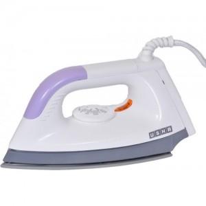 Usha 1602 1000-Watt Lightweight Dry Iron (multi-colour) Dry Iron(white and purple)