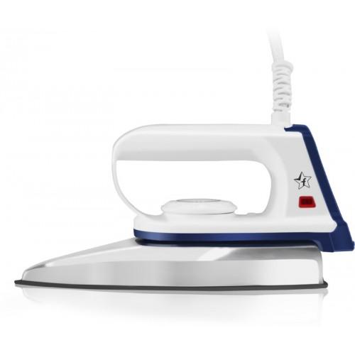 Flipkart SmartBuy 750 W Dry Iron(Blue, White)