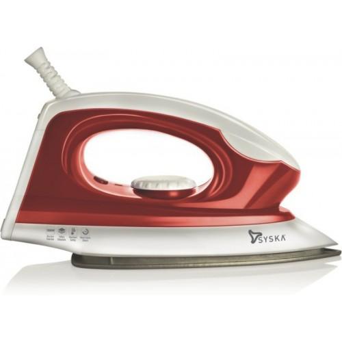 Syska Magic SDI-05 Dry Iron(White & Red)