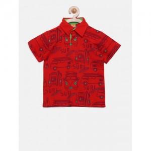 Little Kangaroos Boys Red T-shirt