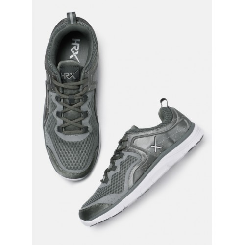 HRX by Hrithik Roshan Grey Running Shoes