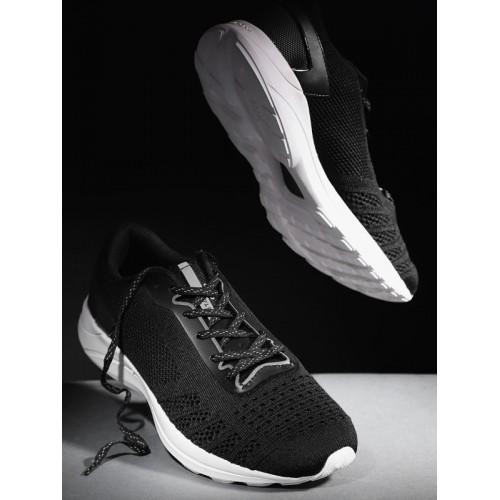 ff01adf2e Buy HRX by Hrithik Roshan Men Black Metagrip Running Shoes online ...