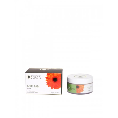 Organic Harvest Unisex Anti Tan Face Mask 50 g