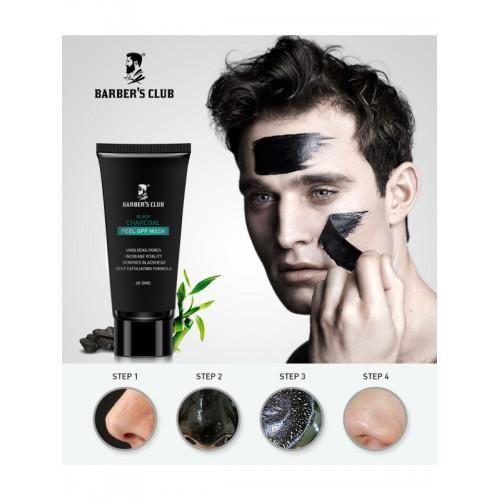 BARBERS CLUB Charcoal Peel Off Mask 60 g