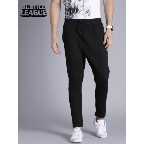Kook N Keech Black Solid Track Pants