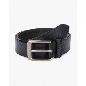 FLYING MACHINE Leather Belt with Buckle Closure
