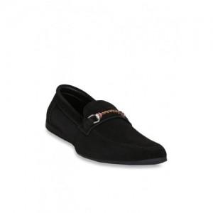 Get Glamr Magnus Black Loafers