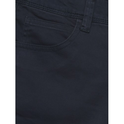 7770537b127 United Colors of Benetton Boys Navy Blue Solid Regular Fit Shorts ...