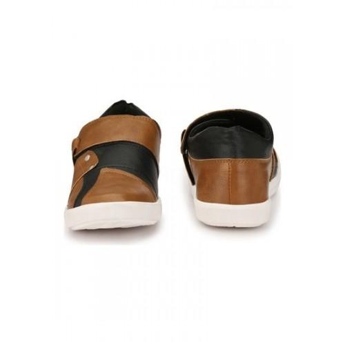 ZebX Casuals For Men  (Brown)
