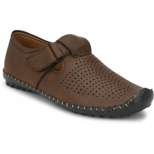 ZebX Men Brown Sandals