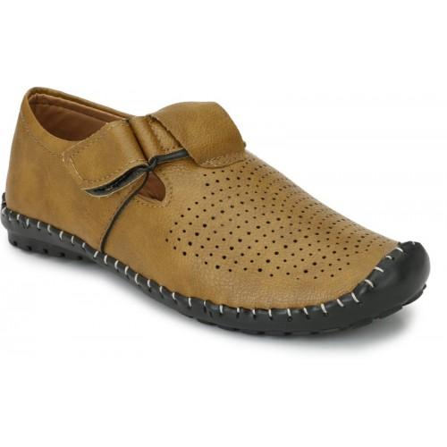 ZebX Men Tan Sandals