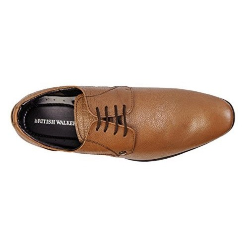 acdff78e050 Buy British Walkers Brown Leather Solid Men s Formal Shoes online ...