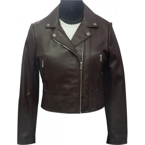 Qual Full Sleeve Solid Women Jacket