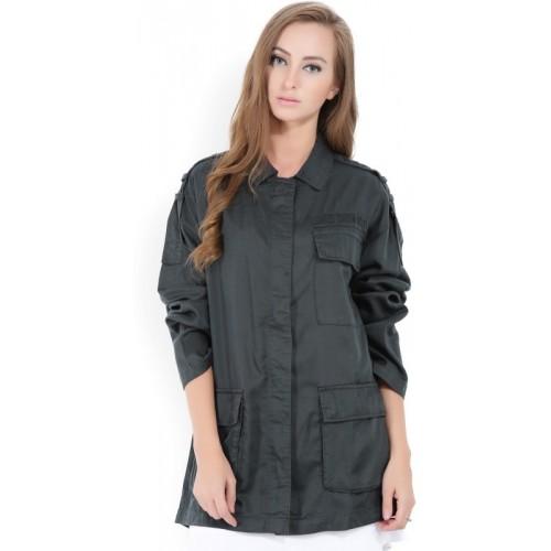 Forever 21 Full Sleeve Solid Women's Jacket