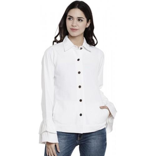 Athena Full Sleeve Solid Women's Jacket