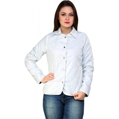 @499 Full Sleeve Solid Women's Jacket