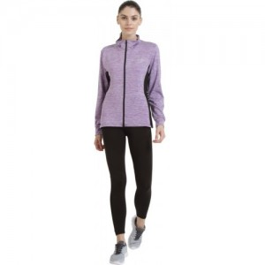 Chkokko Full Sleeve Self Design Women Jacket