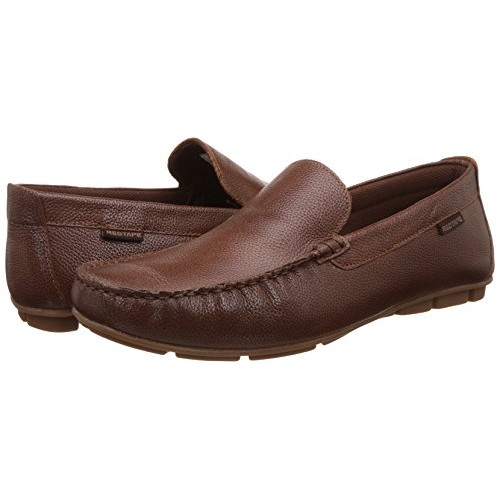 feb27e23854a65 Red Tape Men's Tan Leather Loafers and Moccasins - 9 UK/India (43 ...