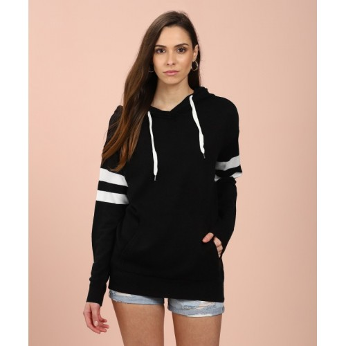 Forever 21 Solid NA Casual Women's Black Sweater