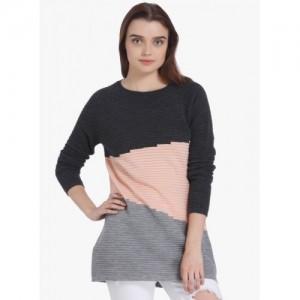 Vero Moda Round Neck Printed Women Pullover