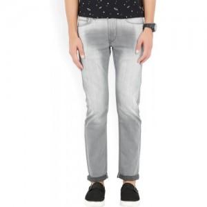 Flying Machine Skinny Men's Grey Jeans