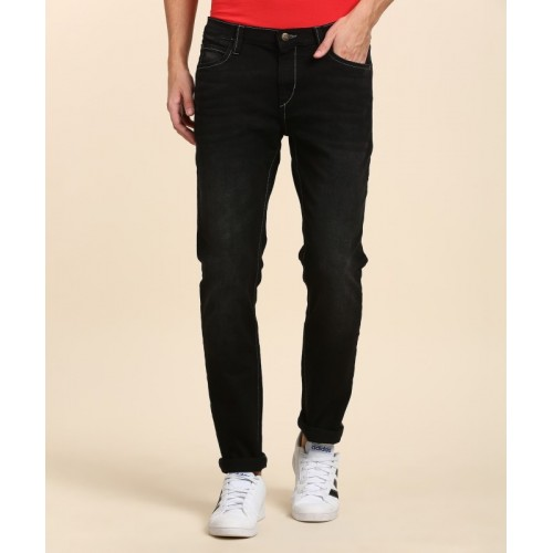 Lee Slim Men Black Jeans