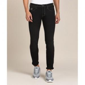 Wrangler Slim Men Black Jeans