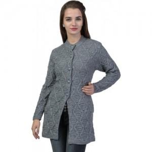 Buy Modeve Printed Round Neck Casual Women Dark Blue Sweater online ... f1d327038