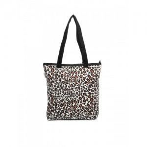 6eb122332802 Buy Abof White Canvas Printed Tote Bag online | Looksgud.in