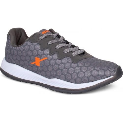 Sparx Men SM-400 Grey Orange Walking Shoes For Men(Grey, Orange)