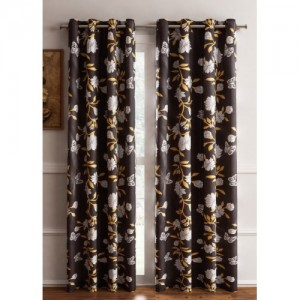 bd3b37a54b9d Buy Home Garage 153 cm (5 ft) Polyester Window Curtain (Pack Of 2 ...