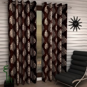 5064a0f466c8 Buy Achintya 152 cm (5 ft) Polyester Window Curtain (Pack Of 2 ...