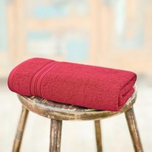Swiss Republic Cotton 460 GSM Bath Towel(Red)