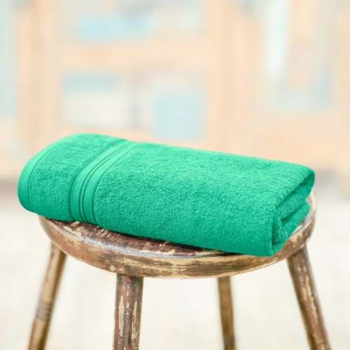 Swiss Republic Cotton 460 GSM Bath Towel(Green)