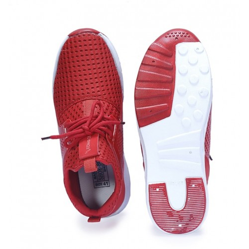 Shoebook Red runnning sports shoes