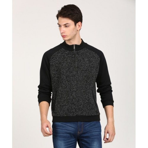 WROGN Full Sleeve Solid Men's Sweatshirt