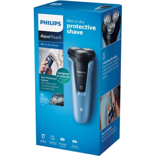 Philips Wet and Dry Electric Shaver Cordless Trimmer for Men