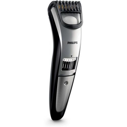 Philips QT4018/15 Beard Trimmer For Men Cordless Trimmer for Men(Black, Silver)