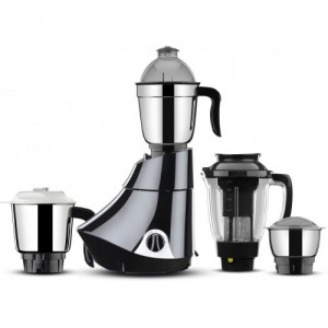 Butterfly Rapid 4 Jar 750 watts 750 W Juicer Mixer Grinder(Black, 4 Jars)
