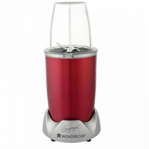 Wonderchef Nutri Blend PRO 700W 700 W Juicer Mixer Grinder(Red, 2 Jars)