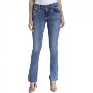 Vero Moda Slim Women Blue Jeans