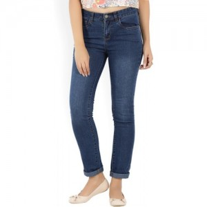 Provogue Slim Women Dark Blue Jeans