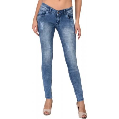 Studio Nexx Slim Women Light Blue Jeans