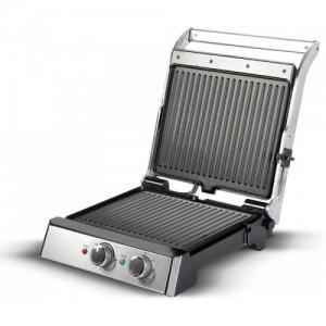 havells Toastino 4 Slice Grill & Bbq With Timer 2000-Watt Sandwich Toaster (Black) Open Grill(Black)