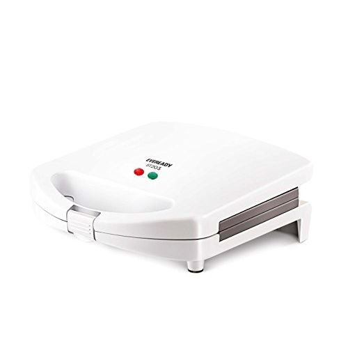 Eveready ST203 750-Watt Sandwich Maker (White)